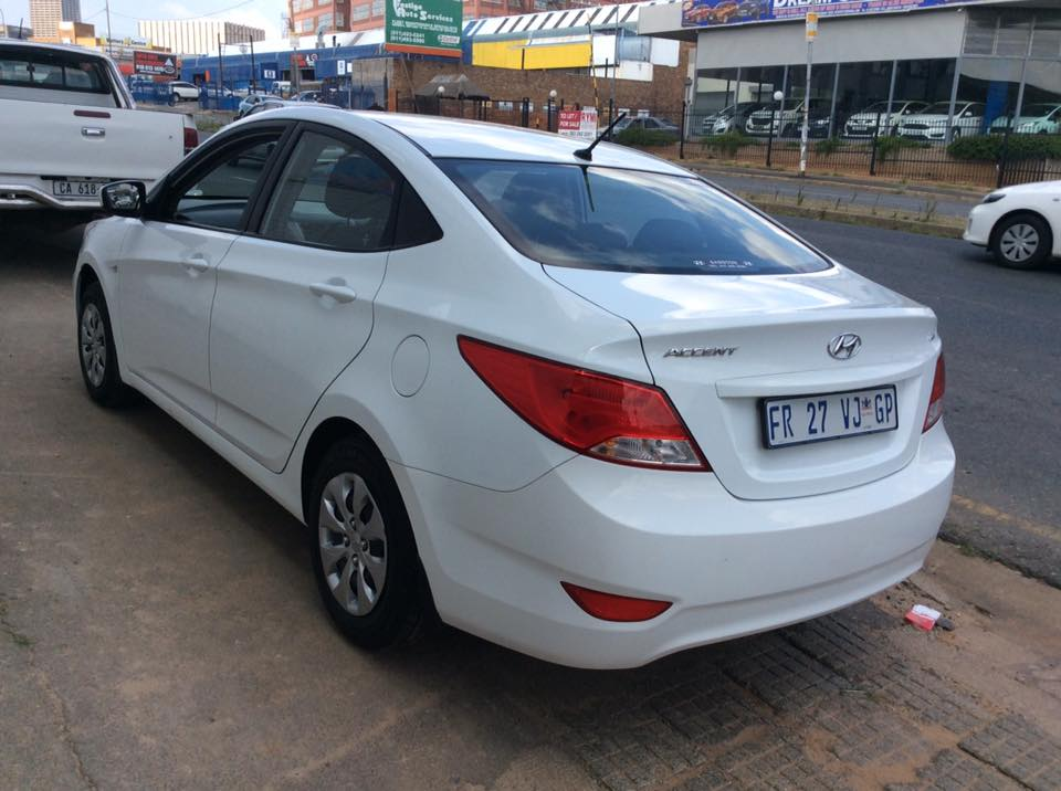 Hyundai Accent 1 6 2017 year model