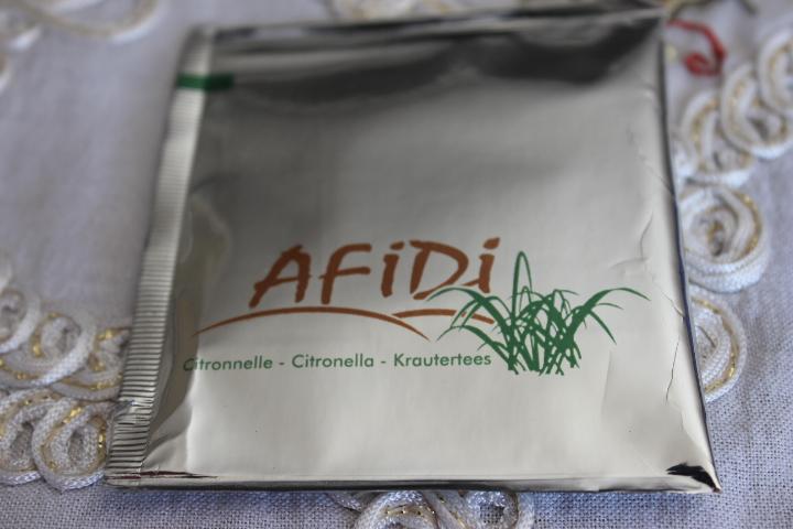 AFIDI Citronella Tea for sale. Entirely Bio