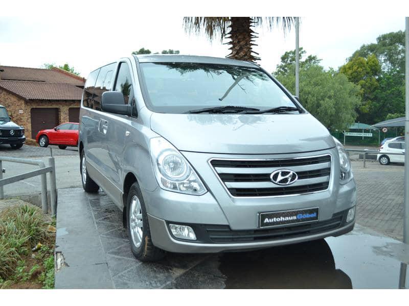 2017 Hyundai H 1 2 5 CRDi Wagon  75 500km  Automatic